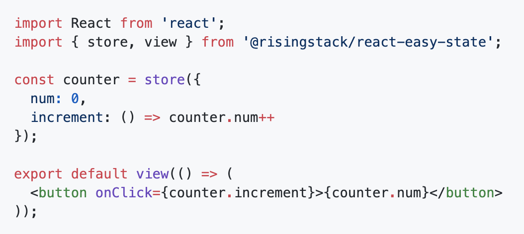 react-easy-state